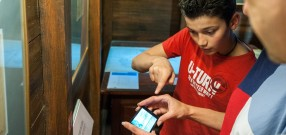 Visite interactive avec smartphone