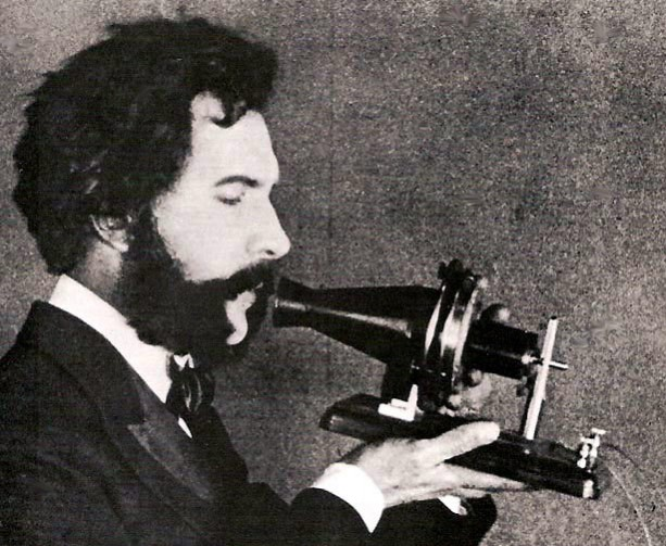 Actor_portraying_Alexander_Graham_Bell_in_an_promotional_film